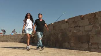 Daniel Stanciu, ghidul stelistilor in Israel! E director sportiv in PARADISUL in care au locuit Napoleon si Richard inima de leu. VIDEO