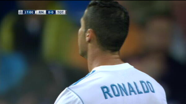 Sutul lui Cristiano Ronaldo