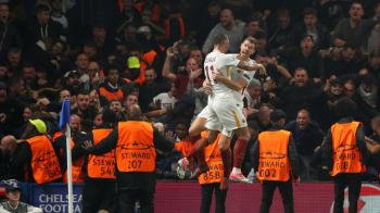 Gol MONDIAL pentru Roma pe terenul lui Chelsea! Meci IREAL in Champions League. Cum a marcat Dzeko