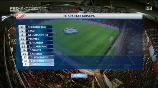 Spartak 5-1 Sevilla. REZUMAT
