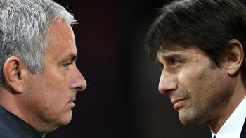 """Mourinho sa-si vada de treaba si de echipa lui"". Duel al declaratiilor intre Conte si The Special One"