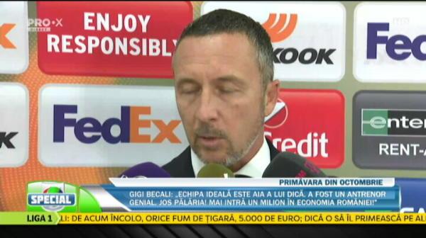 """MM Stoica: """"Ma pregatesc de a 7-e calificare in primavara, restul nu au atatea la un loc!"""" IRONII catre CFR: """"Sunt favoriti la Champions League!"""""""