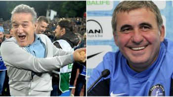 Cum a reactionat Hagi cand a auzit ca Becali vrea sa castige Europa League cu fotbalistii cumparati de la el