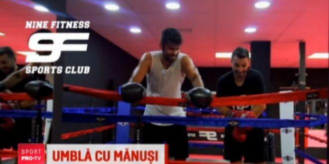 Pana sa joace pentru Atletico, Diego Costa s-a apucat de box! Va fi  fluierat  tot din 3 in 3 minute :)