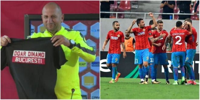 Miriuta:  M-a sunat Budescu! Eu nu l-am antrenat niciodata, dar e un baiat remarcabil . Antrenorul lui Dinamo propune un schimb cu Nemec :)