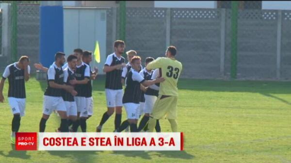 """Unde a ajuns sa joace Florin Costea, la 32 de ani! """"Hagi"""" din echipa lui a dat un gol de la mijlocul terenului VIDEO"""