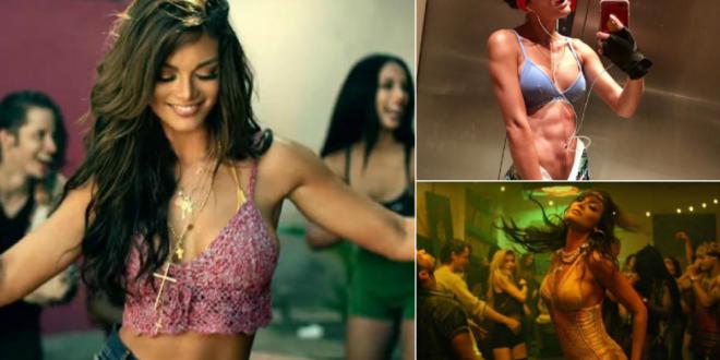 Imagini nerecomandate celor slabi de inger! Cum arata in bikini bruneta superba din videoclipul  Despacito