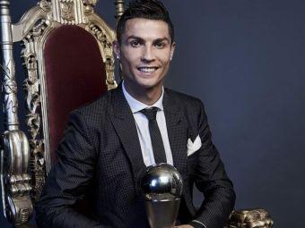 Este un sentiment frumos sa castig din nou acest premiu  Reactia lui Cristiano Ronaldo, dupa ce a fost ales THE Best din nou