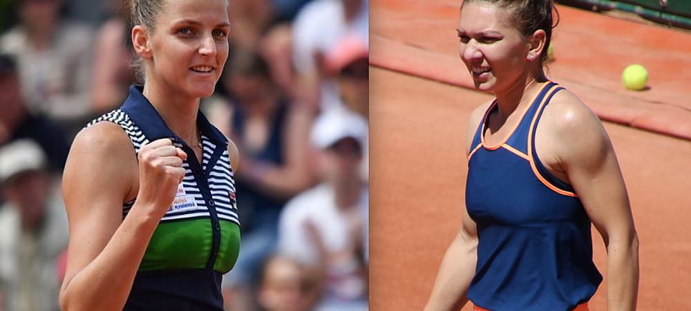 Simona Halep ramane LIDER MONDIAL pana la sfarsitul anului! Pliskova, eliminata in semifinale de Wozniacki. Finala cu Venus Williams