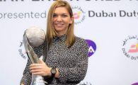 """Simona Halep a primit trofeul pentru numarul 1 WTA si un inel: """"Ma logodesc cu tenisul!"""" FOTO"""