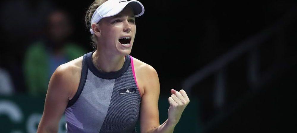 Wozniacki a distrus-o si pe Venus si a castigat Turneul Campioanelor! Cum o poate detrona pe Simona Halep