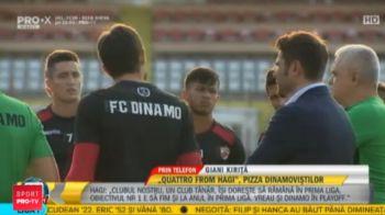 """""""Dinamo se ZBATE pentru supravietuire!"""" Mesajul lui Kirita pentru cei 5 petrecareti: """"E inadmisibil, am o singura problema cu ei!"""""""