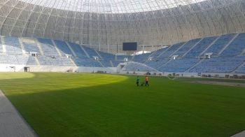 Stadionul Craiovei NU poate gazdui meciul cu Slavia Praga, inaugurarea s-ar putea amana pentru 18 noiembrie! Explicatia primarului