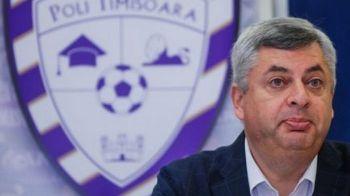 N-a castigat la LPF, iese de tot din fotbal: Sorin Dragoi a demisionat de la Timisoara!