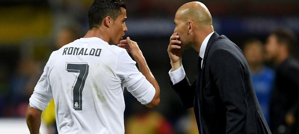 Reactia soc a lui Ronaldo dupa umilinta Realului de pe Wembley: portughezul a intepat conducerea si pe Zidane