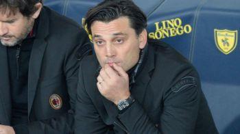 """""""Mi-am vazut inmormantarea in direct"""". Declaratia cu care Montella a surprins dupa inca un egal al Milanului: italienii nu sunt siguri de primavara UEL"""