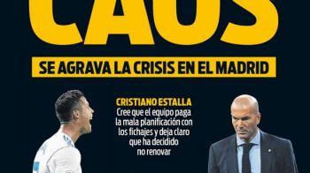 """HAOS la Madrid"". Catalanii vorbesc despre o adevarata bomba pregatita la Real dupa doua infrangeri consecutive. Antrenorul dorit de Floretino Perez in locul lui Zidane"