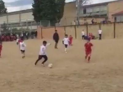 Va exista CR7jr? :) VIDEO | Gol fabulos reusit de pustiul lui Ronaldo