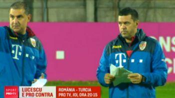 """Contra l-a sunat pe Lucescu inaintea meciului cu Turcia! Ce sfat i-a dat """"Il Luce"""" si cand vom vedea prima naturalizare la nationala Romaniei"""