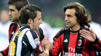 """Sa nu confundam Nutella cu r***t! Cand l-am vazut am zis ca trebuie sa-mi schimb profesia!"" Declaratia GENIALA a unei legende de la Milan despre Pirlo"