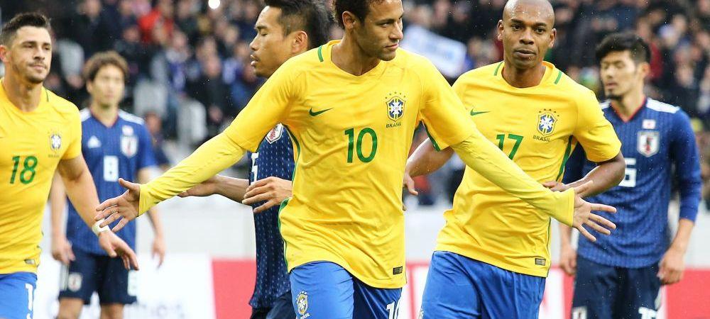Reusita FABULOASA a lui Marcelo in victoria Braziliei cu Japonia! Neymar a marcat, dar a si ratat un penalty! VIDEO