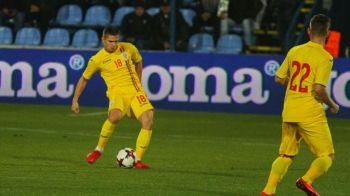 Stai ca nu mai pleaca! :)) Razvan Marin poate ramane la tineret si pentru meciul cu Tara Galilor