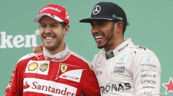 Vettel a castigat Marele Premiu al Braziliei, Hamilton a terminat al patrulea dupa ce a plecat de la boxe