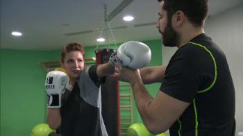 """Ce se intampla, doctore?"" Oana Cuzino s-a apucat de kickboxing! VIDEO"