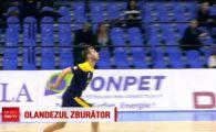 Romania - Olanda, marti, la ProTV | Un voleibalist de la Ploiesti s-a invoit ca se le faca galerie lui Sneijder si Depay! VIDEO
