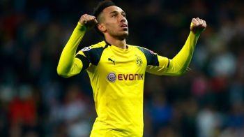 """Aubameyang si-a iesit din minti dupa ce presa """"l-a transferat"""" la Barcelona! Reactia dura a jucatorului de la Borussia"""