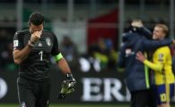 """FOTO   Lacrimile unui campion! Buffon si-a anuntat retragerea in lacrimi: """"A fost ultimul meu meci la nationala!"""""""