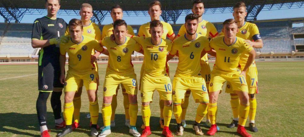 Romania U19 a distrus-o pe Gibraltar si va fi in prima urna in Turul de Elita! Ce jucator de Liga 1 a marcat de 4 ori