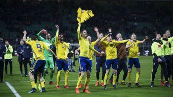 "Se intoarce Zlatan in nationala Suediei la Mondial? Raspuns SOC dat de selectionerul Suediei dupa ce a eliminat Italia: ""E incredibil ca ma intrebati asta!"""