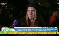 "Simona Halep, aparitie surpriza pe National Arena: ""Am incredere in Contra!"" Cine a insotit-o pe stadion. VIDEO"