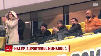VIDEO! Cum a trait Simona Halep meciul Romaniei de pe National Arena! Ce a spus despre Contra