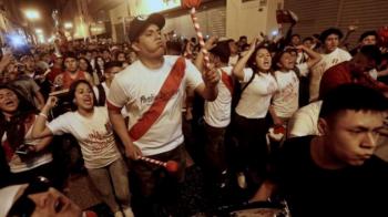 Imagini incredibile! Fanii peruvieni au provocat un CUTREMUR dupa calificarea nationalei lor la Mondial: VIDEO