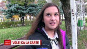"""O voleibalista de 15 ani din Ploiesti scrie un roman: """"E o poveste de dragoste din 1871"""" VIDEO"""