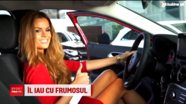 Aparitia care a crescut temperatura la Bucuresti :) Adam Nemec si-a adus iubita in Romania! Cum arata Zuzana, Miss Slovacia 2016
