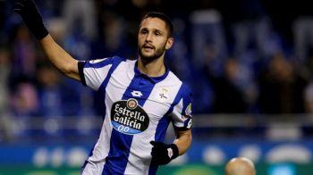"""Florin Andone REGRETA ca a ramas la Deportivo: """"Ma indoiesc ca a fost cea mai buna decizie!"""" Ce oferte a avut"""