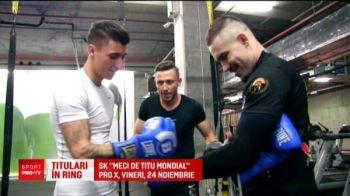 Un fotbalist roman e gata sa se bata cu Rio Ferdinand... in ring :) Ambii se pregatesc pentru debutul in box