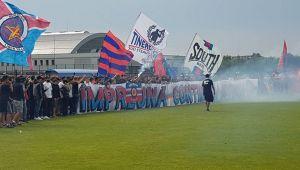 CSA Steaua 4-0 Metaloglobus II. Stelistii au anuntat in revista de meci revenirea pe stadionul Ghencea, la ultima partida din acest an