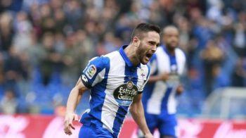 Spaniolii au scris ca Andone poate pleca de la Deportivo in iarna! Mesajul antrenorului pentru roman