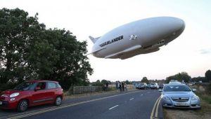 Ghinioanele se tin lant de cea mai mare aeronava din lume. Airlander 10 s-a prabusit VIDEO