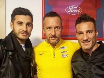 Piovaccari s-a intors in vestiarul Stelei dupa 3 ani si a mai gasit doar 3 jucatori. Mihai Stoica:  Eroii ultimei calificari in Liga