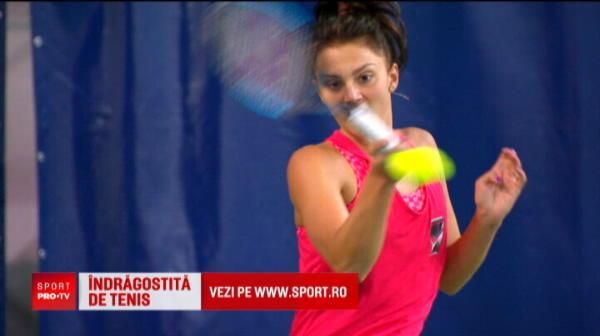 Cine este iubitul lui Jaqueline Cristian, noua speranta a tenisului romanesc VIDEO