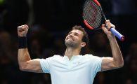 Grigor Dimitrov a castigat pentru prima data in cariera Turneul Campionilor