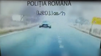 Imagini incredibile in locul in care au murit recent 6 oameni! Sofer surprins cu peste 200 KM/H pe acelasi drum! VIDEO