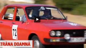 """VIDEO: Dacia """"Geta"""" a fost salvata de la fiare vechi si face senzatie la raliuri"""