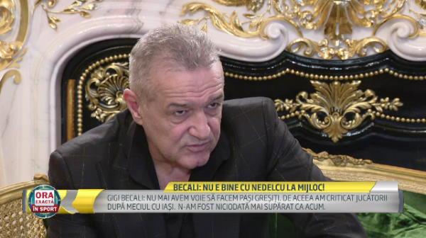 INTERVIU EXCLUSIV cu Gigi Becali: noi reguli pentru Dica si ce se intampla cu Nemec, Rusescu si Keseru