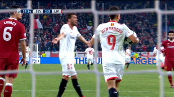 Sevilla 2-3 Liverpool | Ben Yedder face dubla si spaniolii revin in joc